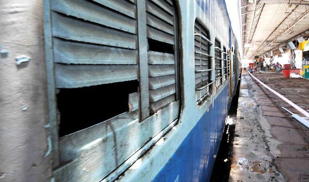 Bad Coaches Kerala Train