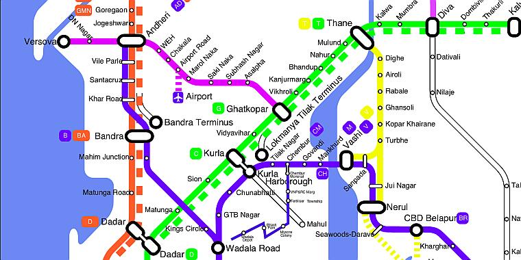 mumbai metro map download pdf