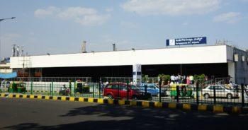 Kempegowda Majestic Metro Station Bangalore Purple Line Entrance